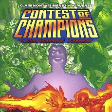 Cómics: CONTEST OF CHAMPIONS: COMBATE FINAL. Lote 115372591