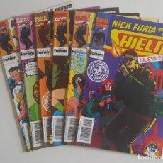 Cómics: NICK FURIA AGENTE DE SHIELD VOL.2 #1-6 (FORUM, 1992) -COMPLETA-. Lote 115420299