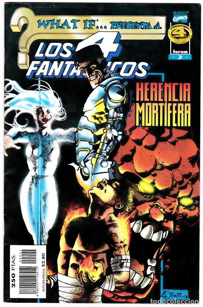 WHAT IF...PRESENTA A LOS 4 FANTANTICOS NUMERO 2 (Tebeos y Comics - Forum - 4 Fantásticos)