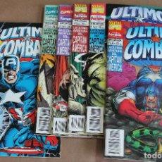 Cómics: EL CAPITÁN AMÉRICA - ÚLTIMO COMBATE 1 2 3 4 5 6 COMPLETA - PLANETA, AÑO 1995, COMO NUEVOS . Lote 115433311