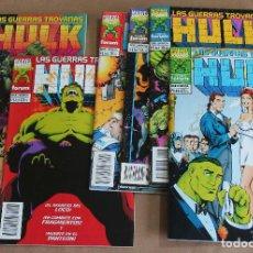 Cómics: HULK, LAS GUERRAS TROYANAS 1 2 3 4 5 6 - COMPLETA, ED. PLANETA, AÑO 1995 - COMO NUEVOS. Lote 115439187