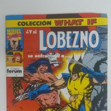 Cómics: LOBEZNO 24 COLECCION WHAT IF ¿Y SI LOBEXNO SE ENFRENTASE A CONAN EL BARBARO?. Lote 115467395