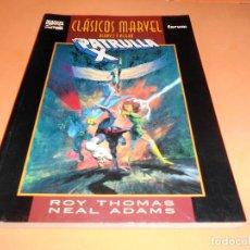 Cómics: CLASICOS B/N: PATRULLA-X: VISIONARIOS, DE ROY THOMAS Y NEAL ADAMS (MARVEL-FORUM) BUEN ESTADO. Lote 115485963
