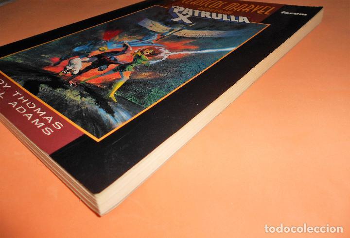 Cómics: CLASICOS B/N: PATRULLA-X: VISIONARIOS, DE ROY THOMAS Y NEAL ADAMS (Marvel-Forum) Buen estado - Foto 3 - 115485963