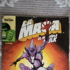 Cómics: LA MASA EL INCREIBLE HULK, Nº 49, COMICS FORUM. Lote 115499687