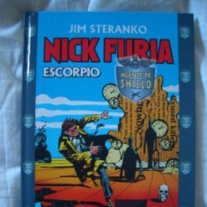 Cómics: JIM STERANKO NICK FURIA AGENTE DE SHIELD: ESCORPIO (FORUM, 2000). Lote 115547683