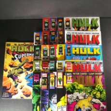 Cómics: HULK VOL. 2 COLECCION COMPLETA 24 NÚMEROS + ESPECIAL HULK VS SUPERMAN, MARVEL FORUM. Lote 115547911