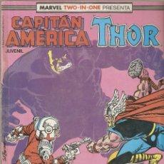 Cómics: RETAPADO CAPITAN AMERICA - THOR #54-56 [FORUM] [MARVEL]. Lote 115591891