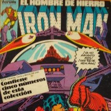 Cómics: RETAPADO IRON MAN #21-25 [FORUM] [MARVEL]. Lote 115597495