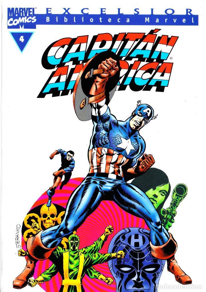 BIBLIOTECA MARVEL EXCELSIOR. CAPITAN AMERICA TOMOS 1 Y 4 (Tebeos y Comics - Forum - Capitán América)
