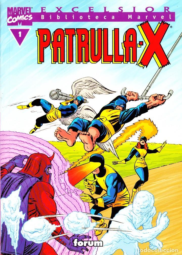 BIBLIOTECA MARVEL EXCELSIOR. PATRULLA X. 1 AL 3 (Tebeos y Comics - Forum - Patrulla X)