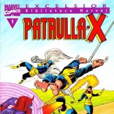 Cómics: BIBLIOTECA MARVEL EXCELSIOR. PATRULLA X. 1 AL 3. Lote 115629559