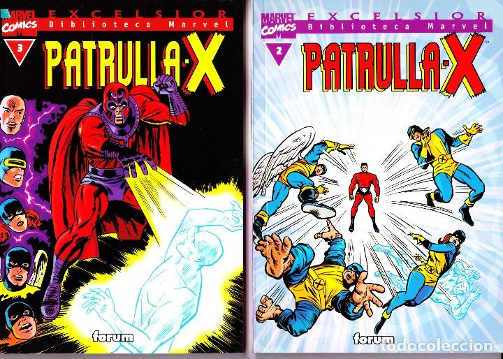 Cómics: BIBLIOTECA MARVEL EXCELSIOR. PATRULLA X. 1 AL 3 - Foto 2 - 115629559