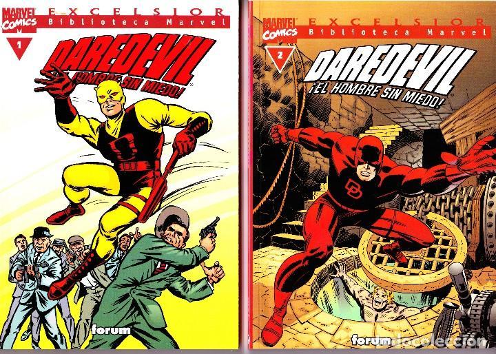 BIBLIOTECA MARVEL EXCELSIOR. DAREDEVIL 1 AL 3 (Tebeos y Comics - Forum - Daredevil)