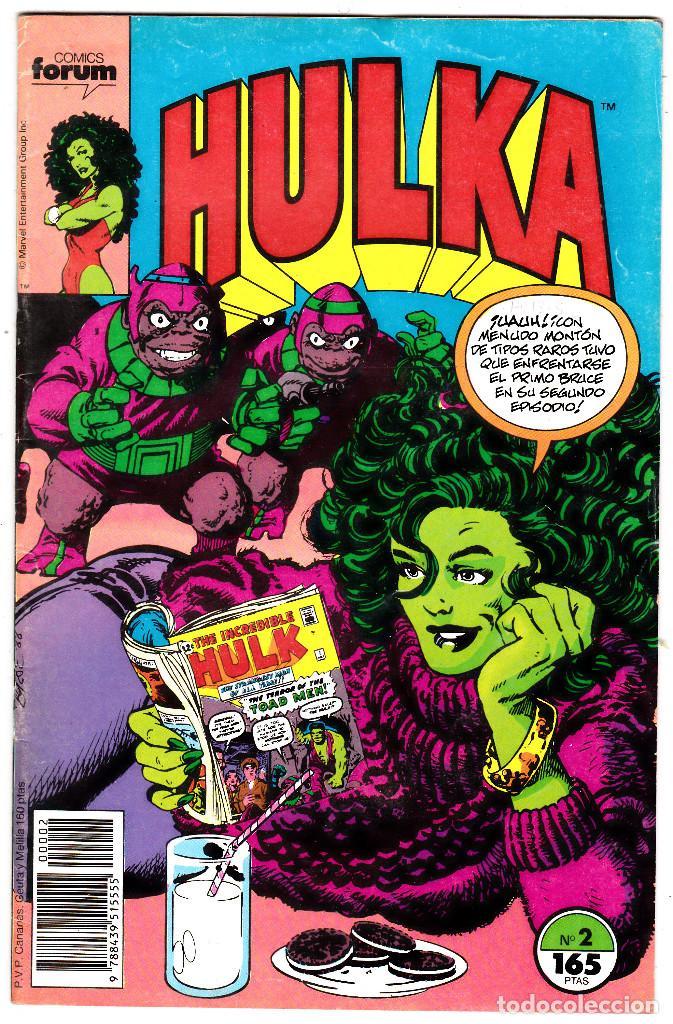 HULKA NUMERO 2 : COSTAS JUDICIALES (Tebeos y Comics - Forum - Hulk)
