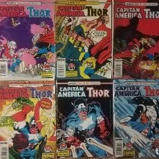 Cómics: MARVEL TWO IN ONE CAPITAN AMERICA THOR 20 GRAPAS. Lote 115647071