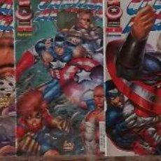 Cómics: CAPITAN AMERICA HEROES REBORN 2,3,4,5,6,7,8. Lote 115672587