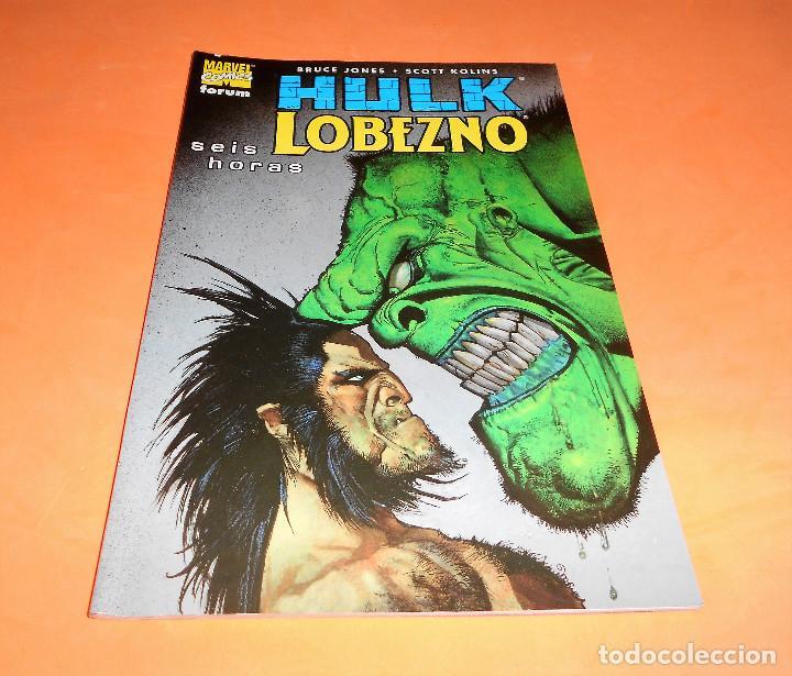 HULK & LOBEZNO SEIS HORAS PLANETA. JONES & KOLINS. RUSTICA. MUY BUEN ESTADO (Tebeos y Comics - Forum - Hulk)