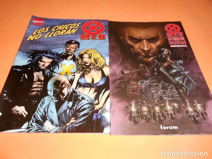 X-MEN. LAS CHICAS SON GUERRERAS Y LOS CHICOS NO LLORAN. VARIOS AUTORES. MUY BUEN ESTADO (Tebeos y Comics - Forum - X-Men)