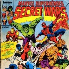 Cómics: SECRET WARS I Y II COMPLETA AÑO 1984 DEL 1 AL 50 ZECK-JOHN BUSCEMA-FALCO CAJA15+ BIBLI ARRIBA IZQUI. Lote 27146416