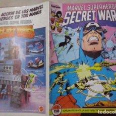 Cómics: TEBEOS Y COMICS: MARVEL SUPERHEROES SECRET WARS Nº 7 (ABLN). Lote 116097111