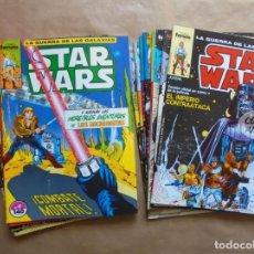 Cómics: STAR WARS - LA GUERRA DE LAS GALAXIAS - 1 A 16 COMPLETA - FORUM - MUY BUEN ESTADO - JMV. Lote 116099631