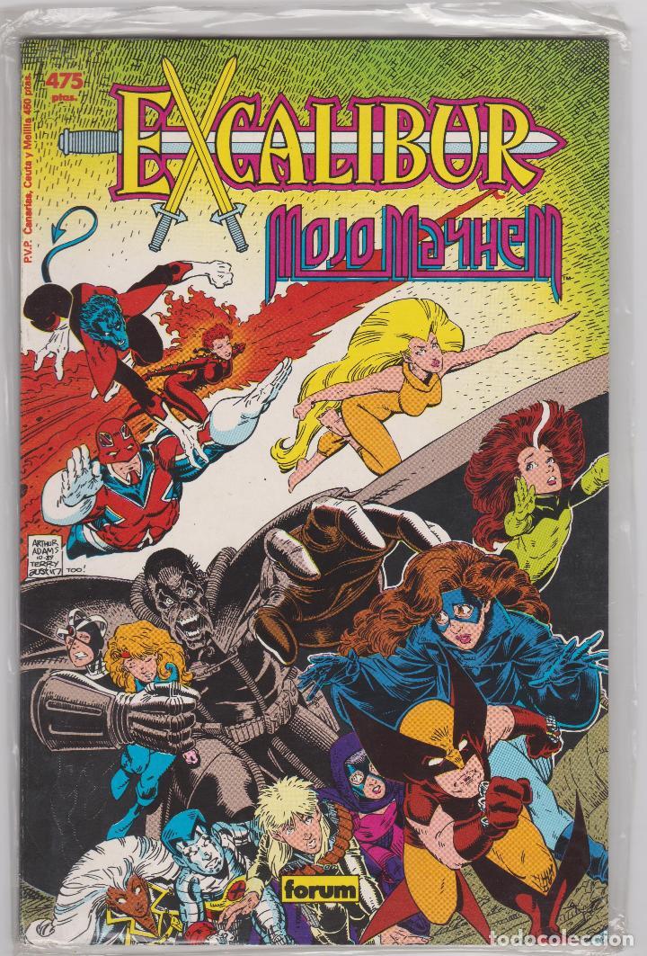 PRESTIGIOS FORUM VOL. 1 -- Nº 8 EXCALIBUR MOJO MAYHEM (Tebeos y Comics - Forum - Prestiges y Tomos)