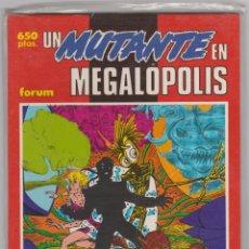 Cómics: PRESTIGIOS FORUM VOL. 1 -- Nº 27 UN MUTANTE EN MEGALÓPOLIS. Lote 116165347