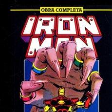Cómics: IRN MAN NUEVA ETAPA COMPLETA 14 NºS VARIOS AUTORES MICCHELINIE CAJA 18+ 1992 BIBLIO ARRIBA DERECHA. Lote 116198371