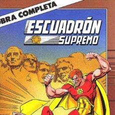 Cómics: ESCUADRON SUPREMO COMPLETA 10NºS AUTORES VARIO CAJA 18+ BIBLIO ARRIBA DERECHA. Lote 116199063