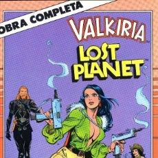 Cómics: LOST PLANET WALKIRIA DE 6 NºS OBRA COMPLETA 1989 DIXON/ GULACY(2 HAXTUR)CAJA 18+ Y 24 + BLIO 4º ARR. Lote 116199863
