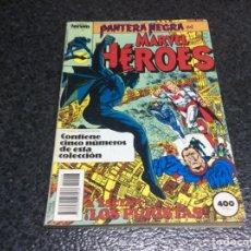 Cómics: MARVEL HEROES, TOMO RECOPILATORIO - CONTIENE Nº 41, 42, 43, 44. Lote 39339167