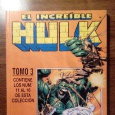 Cómics: EL INCREIBLE HULK, RETAPADO TOMO 3 CON NUMEROS 11 A 15. COMICS FORUM. HULK VOL 3. 1999. Lote 116270643