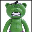 Cómics: MUÑECO HULK AVENGERS VENGADORES 13 CMS - TEDDY BEAR MARVEL OFICIAL - NUEVO EN CAJA DESCATALOGADO. Lote 116333947