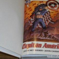 Cómics: CAPITAN AMERICA VOLUMEN 5 Nº DEL 1 AL 25 ENCUADERNADOS EN UN TOMO - FORUM Y PANINI -. Lote 116424271