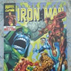 Cómics: EL INVENCIBLE IRON MAN 14. FORUM. DE STERN, CHEN Y STUCKER. Lote 116467799
