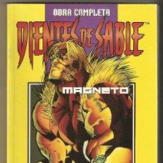 Cómics: DIENTES DE SABLE Y MISTICA - MAGNETO - 8 NUMEROS OBRA COMPLETA EN 1 TOMO - FORUM. Lote 116553263