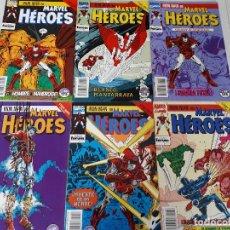 Cómics: IRON MAN: STARK WARS COMPLETA -MICHELINIE·BRIGHT·WINDSOR-SMITH -MARVEL HÉROES 54 AL 59. Lote 116585787