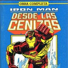 Cómics: IRON MAN: DESDE LAS CENIZAS COMPLETA EN UN TOMO. Lote 116603523