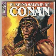 Cómics: EL REINO SALVAJE DE CONAN Nº 1 - FANTASIA HEROICA - FORUM. Lote 116749651