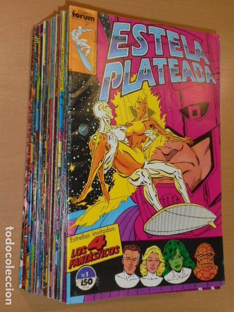 ESTELA PLATEADA OBRA COMPLETA 27 NUMEROS - FORUM - (Tebeos y Comics - Forum - Silver Surfer)