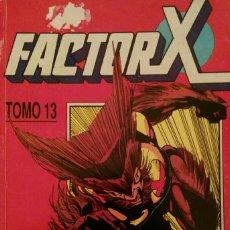 Cómics: FACTOR X. TOMO 13. CONTIENE NOS DEL 60 AL 65.. Lote 116790036