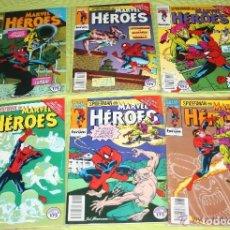 Cómics: SPIDERMAN: EL NIÑO QUE LLEVAS DENTRO : MARVEL HÉROES Nº 72,73,74,75,76 Y 77 .(MUY DIFICILES) MBE. Lote 116846335