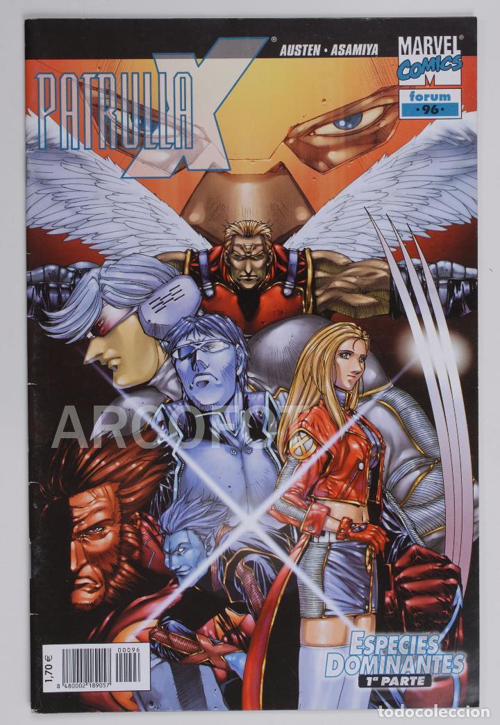 PATRULLA X - Nº 96 - ESPECIES DOMINANTES - PRIMERA PARTE - MARVEL COMICS - FORUM (Tebeos y Comics - Forum - Patrulla X)