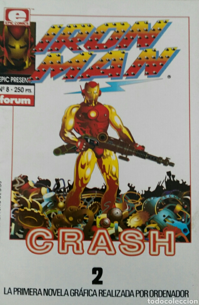 IRON MAN. CRASH 2. N°8. (Tebeos y Comics - Forum - Iron Man)