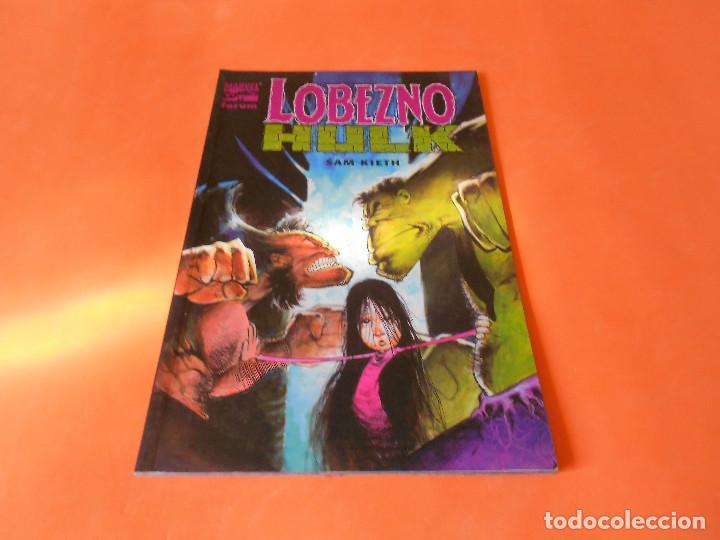 LOBEZNO & HULK: HISTORIA DE PO - FORUM - SAM KIETH - MUY BUEN ESTADO (Tebeos y Comics - Forum - Hulk)