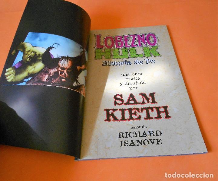 Cómics: LOBEZNO & HULK: HISTORIA DE PO - FORUM - SAM KIETH - MUY BUEN ESTADO - Foto 3 - 116999579
