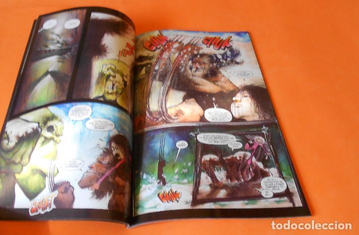 Cómics: LOBEZNO & HULK: HISTORIA DE PO - FORUM - SAM KIETH - MUY BUEN ESTADO - Foto 4 - 116999579