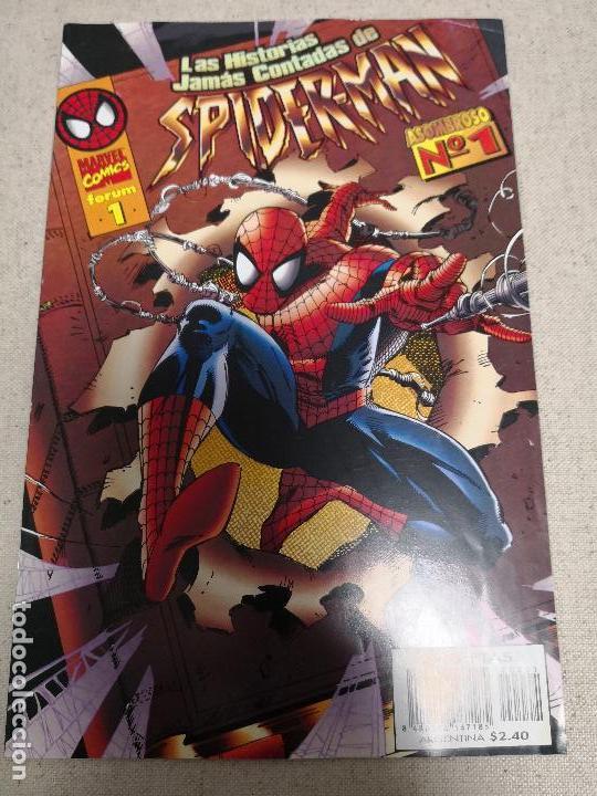 LAS HISTORIAS JAMAS CONTADAS DE SPIDERMAN COMPLETA 26 NÚMEROS. (Tebeos y Comics - Forum - Spiderman)