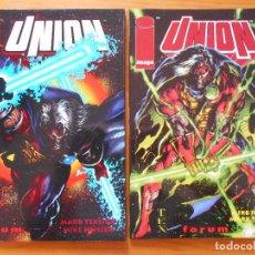 Comics : UNION - COMPLETA - UNION 1 Y 2 - MARK TEXEIRA, MIKE HEISLER - IMAGE - FORUM (8L). Lote 117118247